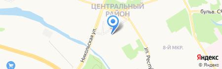 Интек на карте Сургута
