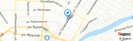 Дастархан на карте Омска
