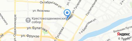 Элина на карте Омска