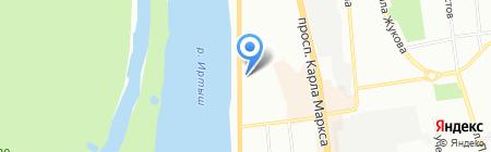 Fast Beauty на карте Омска