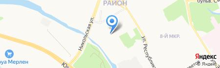 ГЛОБАЛ СЕРВИС на карте Сургута