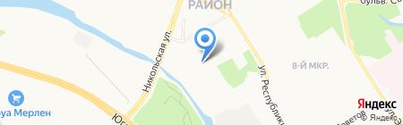 Сургуткомп на карте Сургута