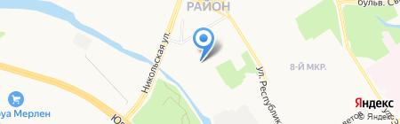 СЕВЕРАВТОМАТИКА на карте Сургута