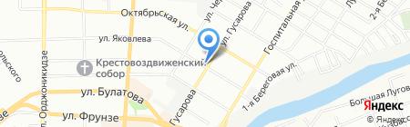 Банкомат АКБ Росбанк на карте Омска
