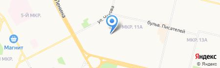 Перестройка на карте Сургута