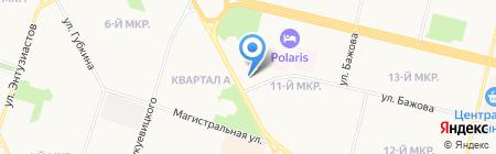 Банкомат Ханты-Мансийский банк Открытие ПАО на карте Сургута