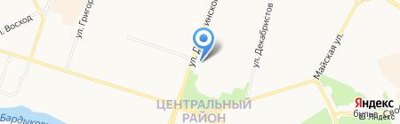 Атриум на карте Сургута