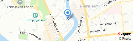 Домик-С на карте Омска