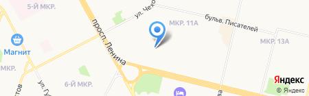 Билайн на карте Сургута