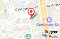 Схема проезда до компании Архив «Омский» в Омске