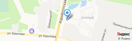 Средняя общеобразовательная школа №22 на карте Сургута