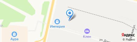 H2O на карте Сургута