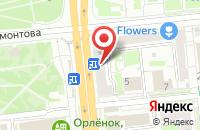 Схема проезда до компании Экомед в Иваново