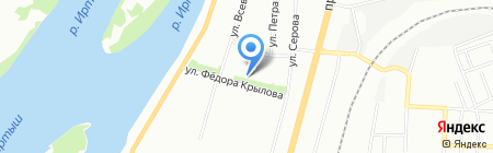 Ваниль на карте Омска