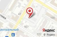 Схема проезда до компании Алые Паруса в Омске
