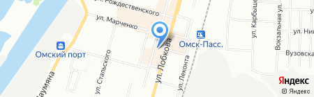 Домашний клуб на карте Омска