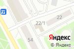 Схема проезда до компании Сибирский Цирюльник в Сургуте