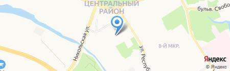 2S group на карте Сургута