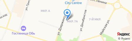 Центральное квартирное бюро на карте Сургута