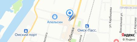 Мистраль-сервис на карте Омска