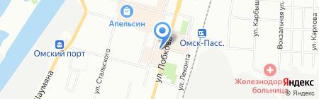 Дизайн маркет на карте Омска