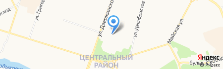 Аккобанк на карте Сургута