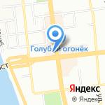Л`Этуаль на карте Омска