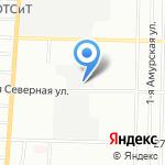 Лидер Плюс на карте Омска