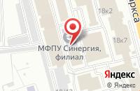 Схема проезда до компании Гтс в Омске