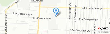 Мак-дом на карте Омска