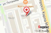 Схема проезда до компании Радуга-Сибирь в Омске