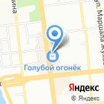 Нота шлейфа на карте Омска