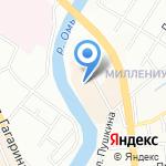 Incity на карте Омска