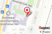Схема проезда до компании Мастер в Омске