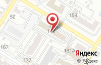 Схема проезда до компании Альфаком - Программные Решения в Омске