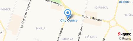 Аарон на карте Сургута