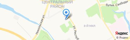 BEAUTY M на карте Сургута