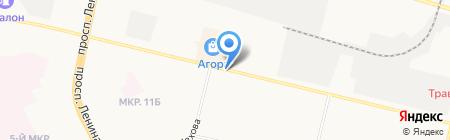 АКБ Сервис плюс на карте Сургута