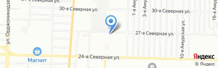 ШАШЛЫЧьКА на 27 Северной на карте Омска