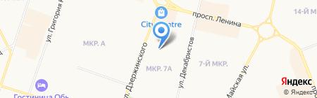 ГлавПродМаг на карте Сургута