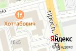 Схема проезда до компании Вектор в Омске