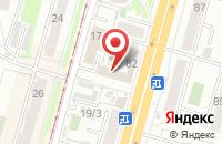 Схема проезда до компании Большой Секрет в Омске