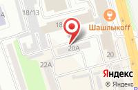 Схема проезда до компании Принтмаркет в Омске