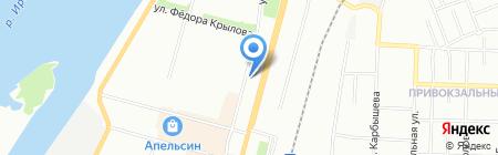 Ирбис-Евроокно на карте Омска