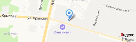 МИПТУС на карте Сургута