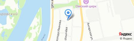 ВесСтройСтандарт на карте Омска