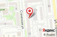 Схема проезда до компании Криста-Омск в Омске