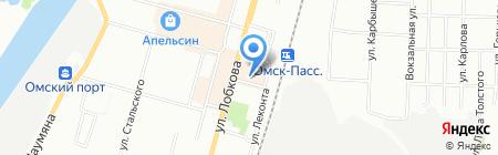 Банкомат Лето Банк на карте Омска
