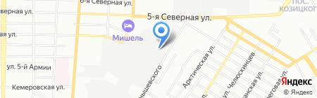ГЛАССПРОМ на карте Омска