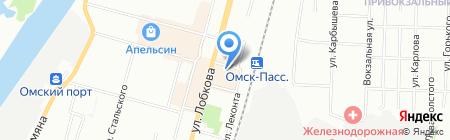 Детская школа искусств №4 на карте Омска